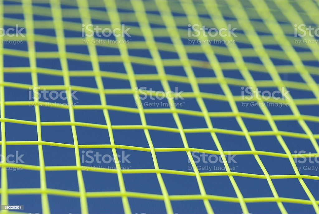 Strings on a Racket stock photo