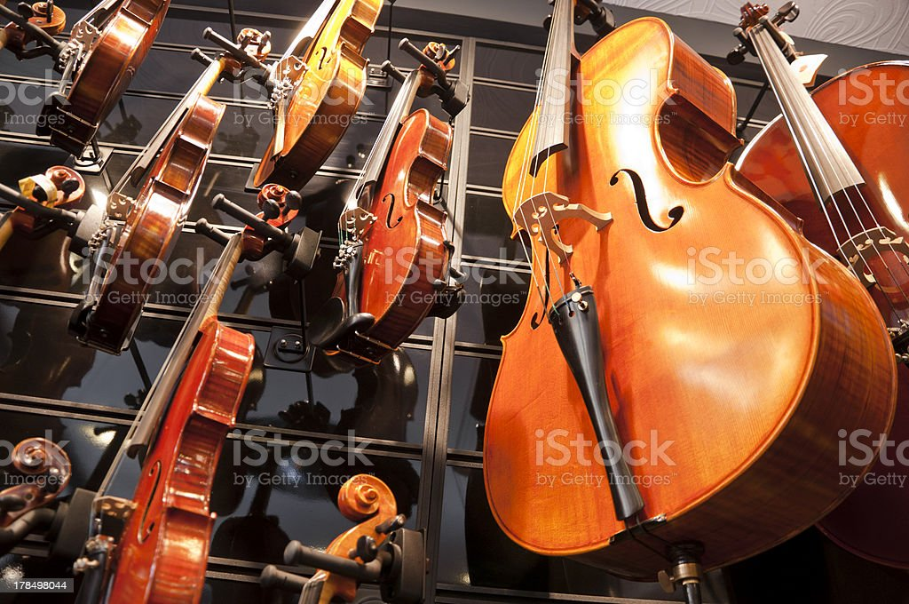 Strings royalty-free stock photo