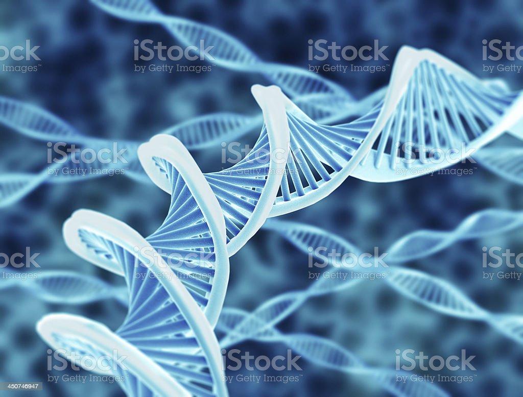 DNA strings stock photo
