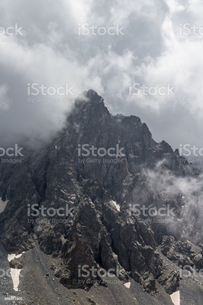 Stringy Rock Towers stock photo