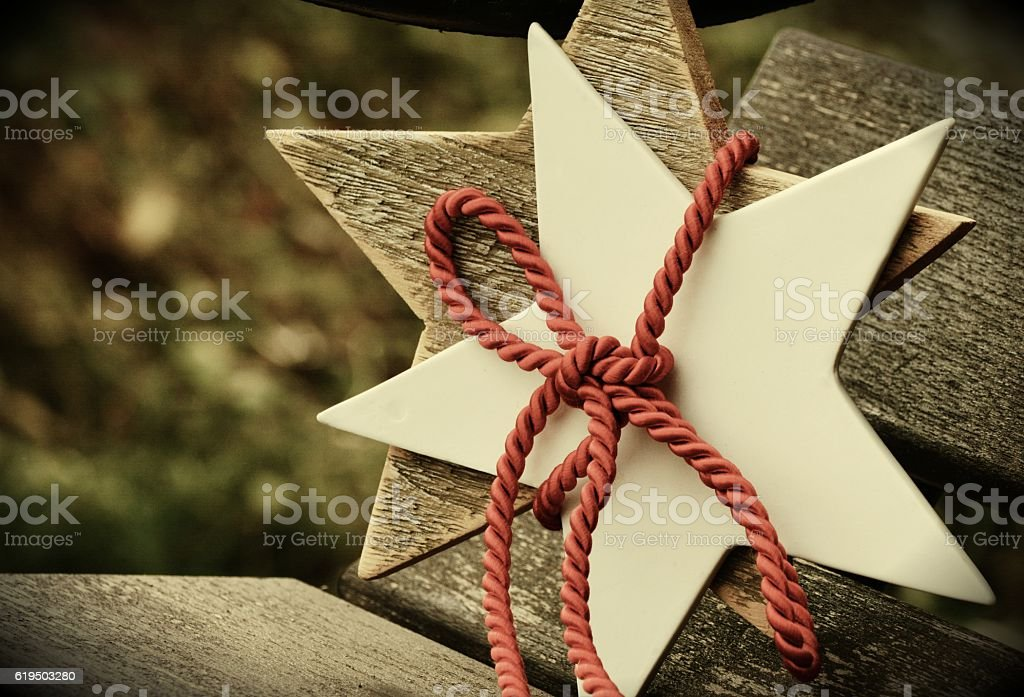 Stringy Woodwork stock photo
