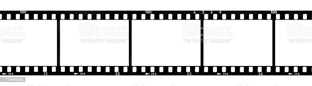 Strip of film royalty-free stock photo