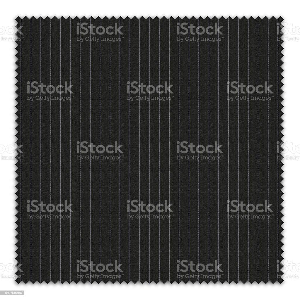 Striped Black Swatch royalty-free stock photo
