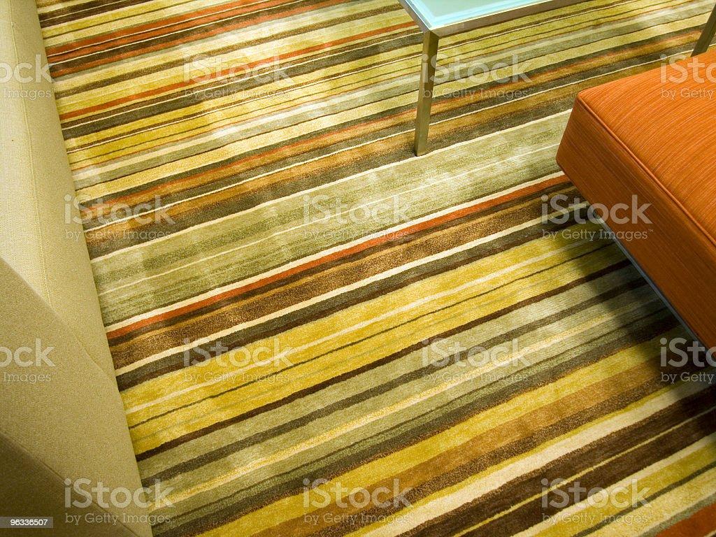 Striped Carpet royalty-free stock photo