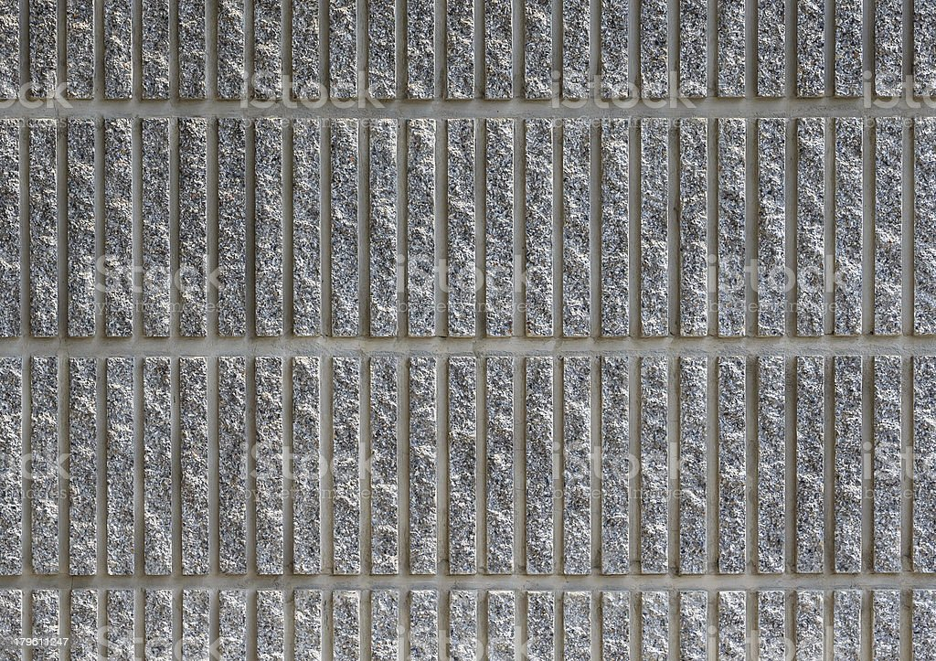 Striped Concrete Wall Background, Texture, Closeup royalty-free stock photo