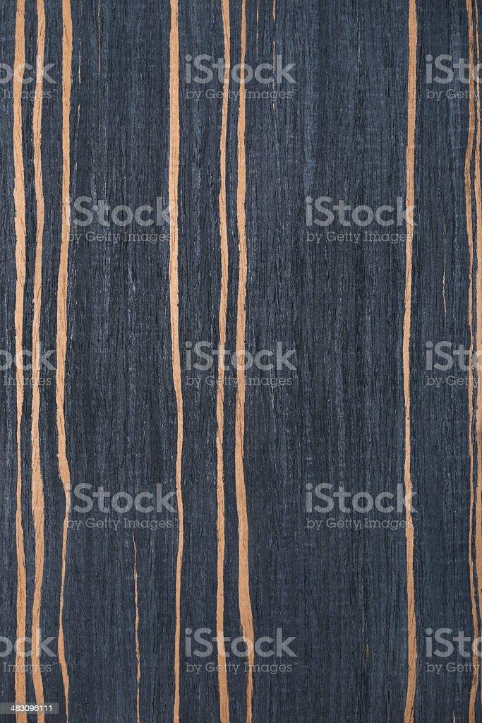 striped ebony wood texture, tree background stock photo