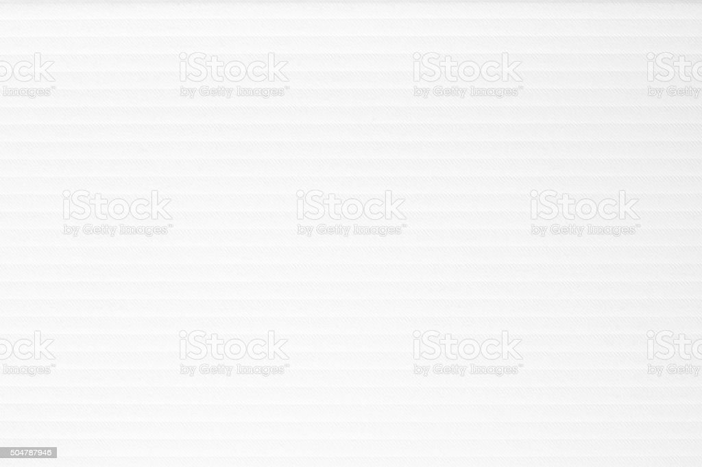 Striped embossed paper. White texture background stock photo