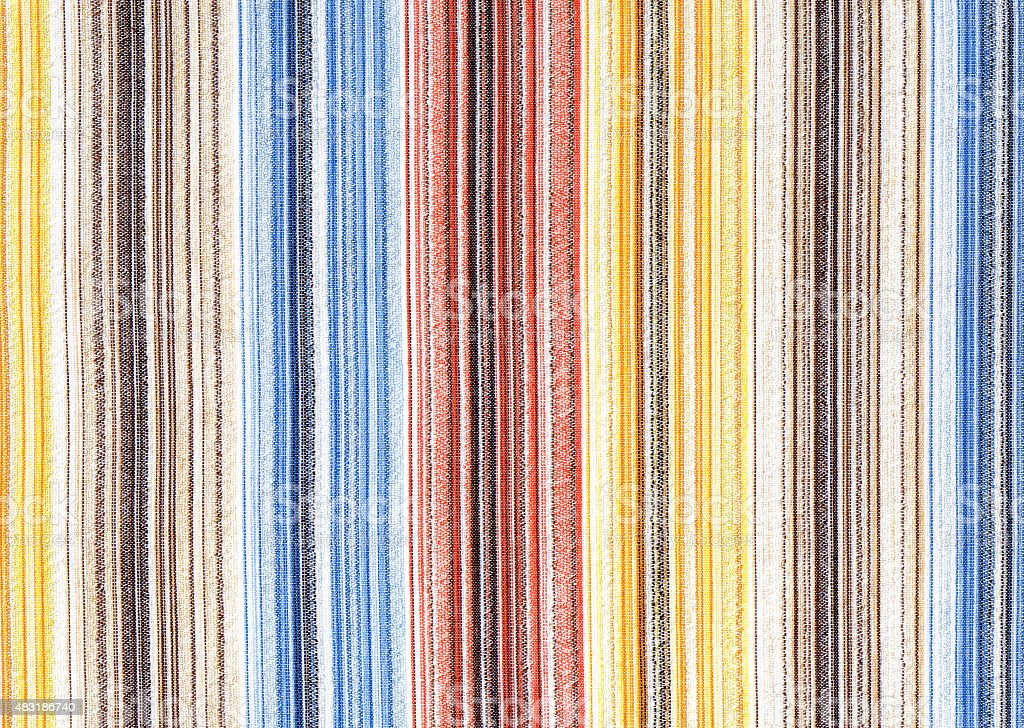 striped fabric background with vertical stripes stock photo