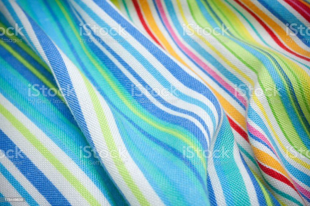 Striped knit fabric background textured stock photo