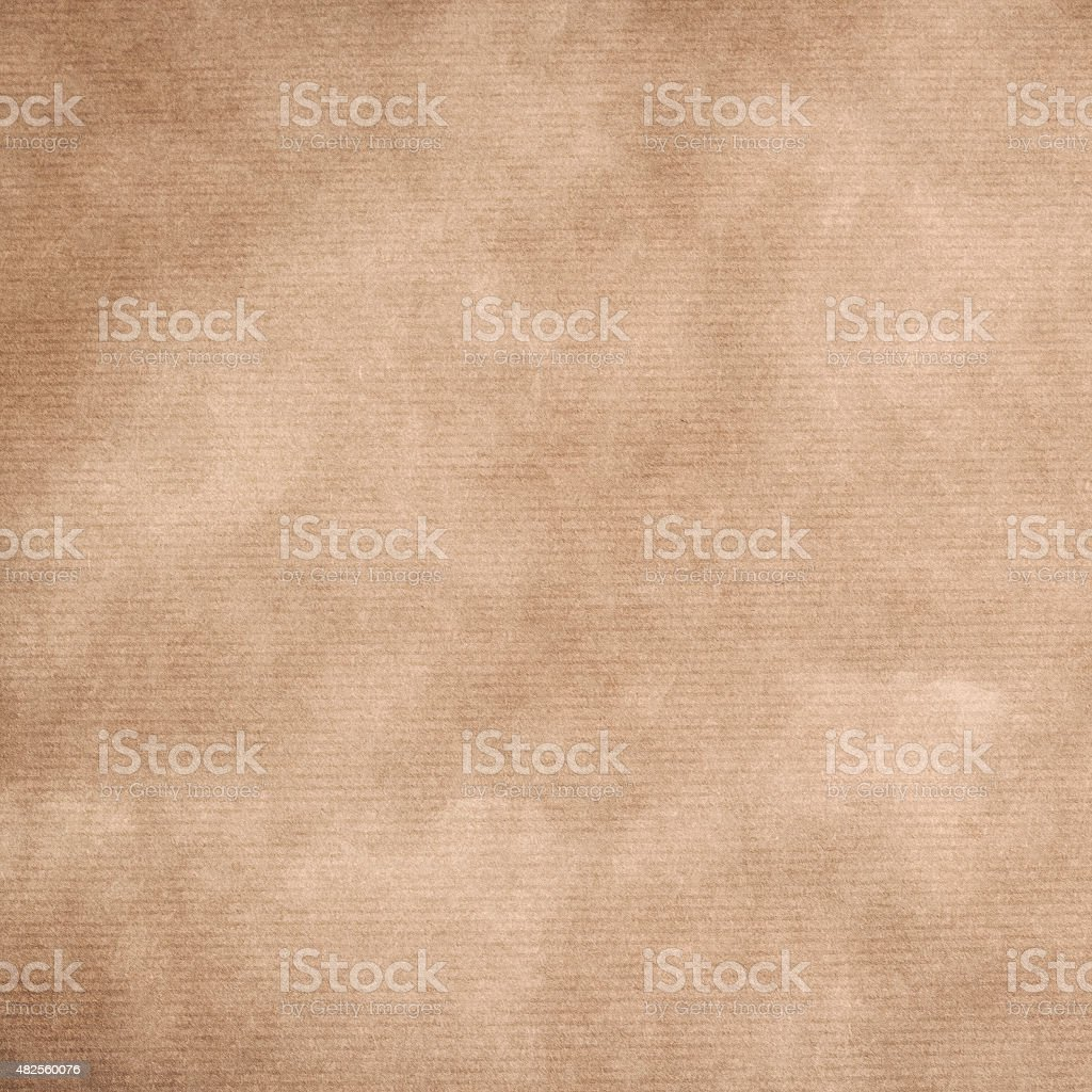 striped kraft paper stock photo