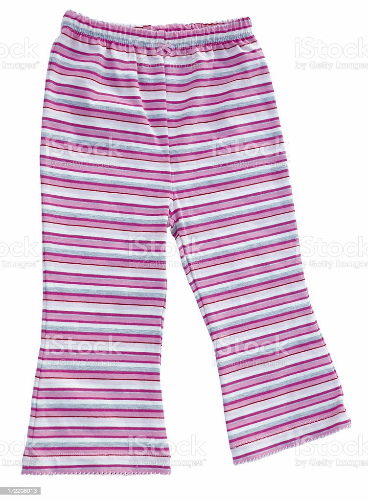 Striped Leggings royalty-free stock photo