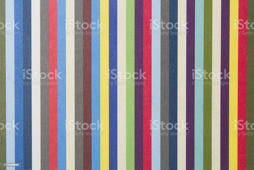Striped multi coloured colourful pattern royalty-free stock photo