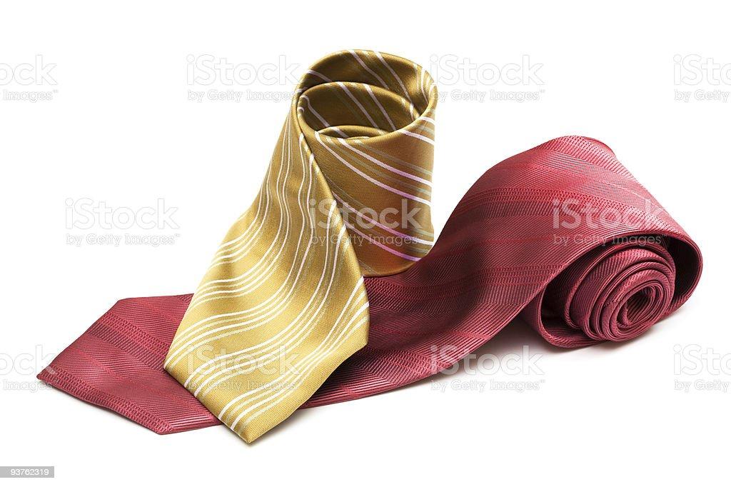 striped necktie stock photo