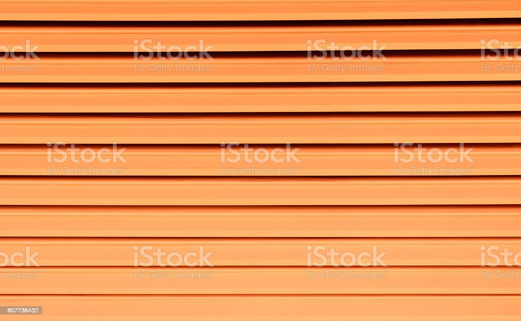 Striped orange color - Background texture and abstract stock photo