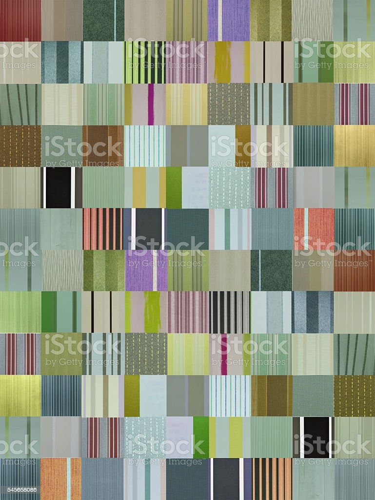 striped patchwork pattern stock photo