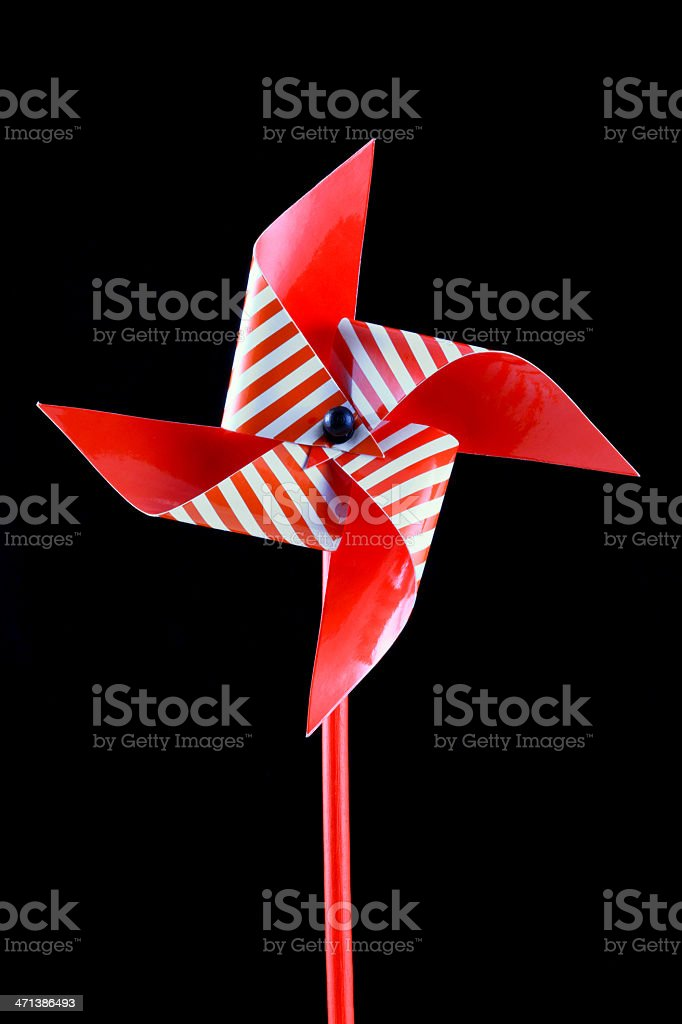 striped pinwheel royalty-free stock photo