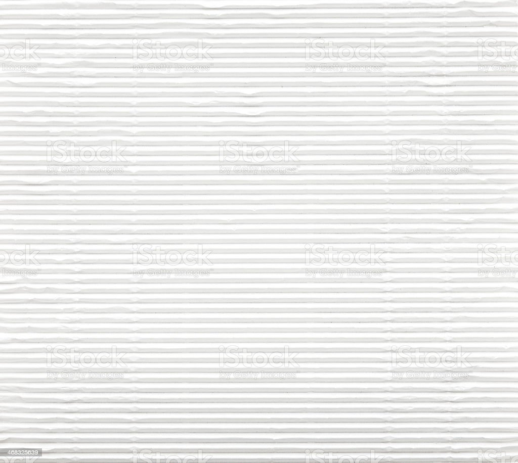 A striped textured white paper background stock photo