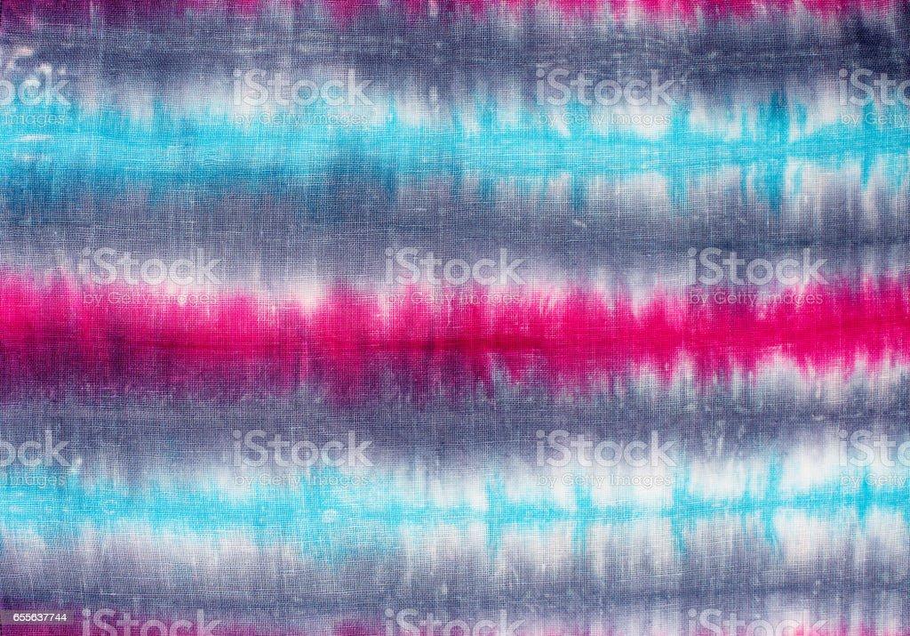 striped tie dye pattern background.