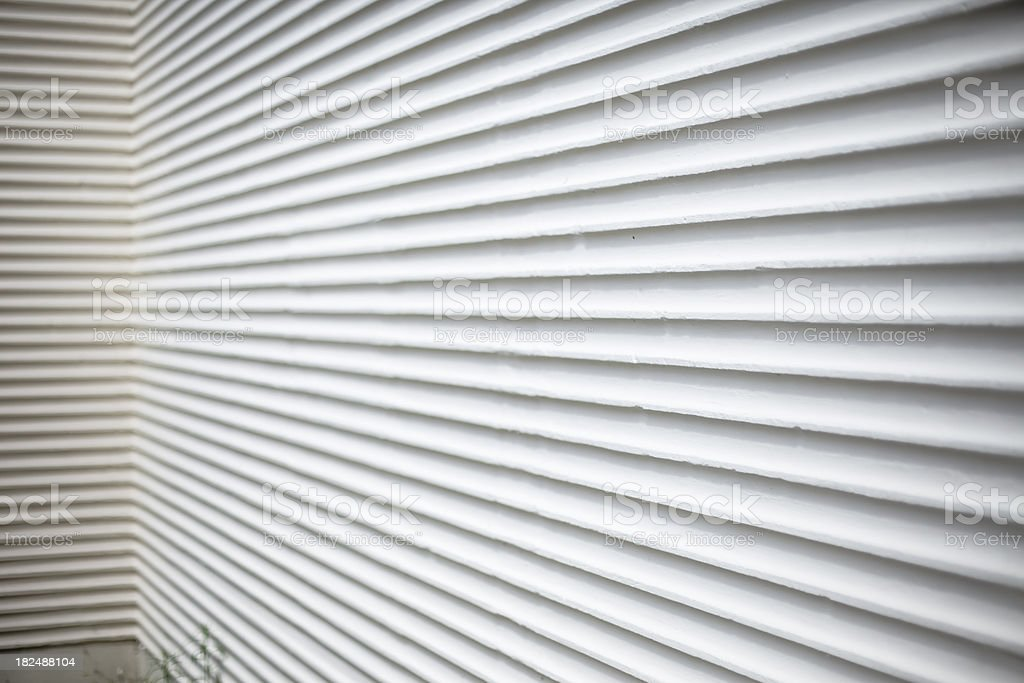 Striped Wall royalty-free stock photo