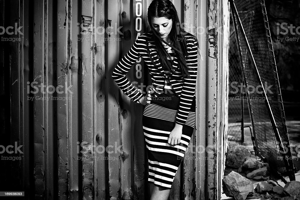 Stripes Fashion Trend 2013 stock photo