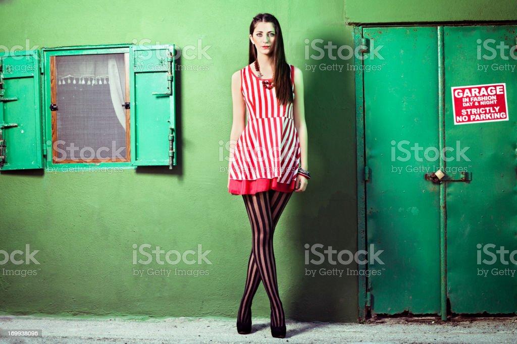 Stripes Fashion Trend 2013 stock photo