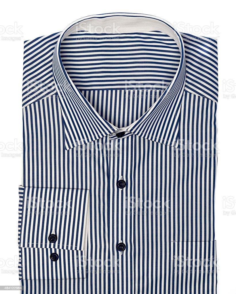 Stripped shirt stock photo