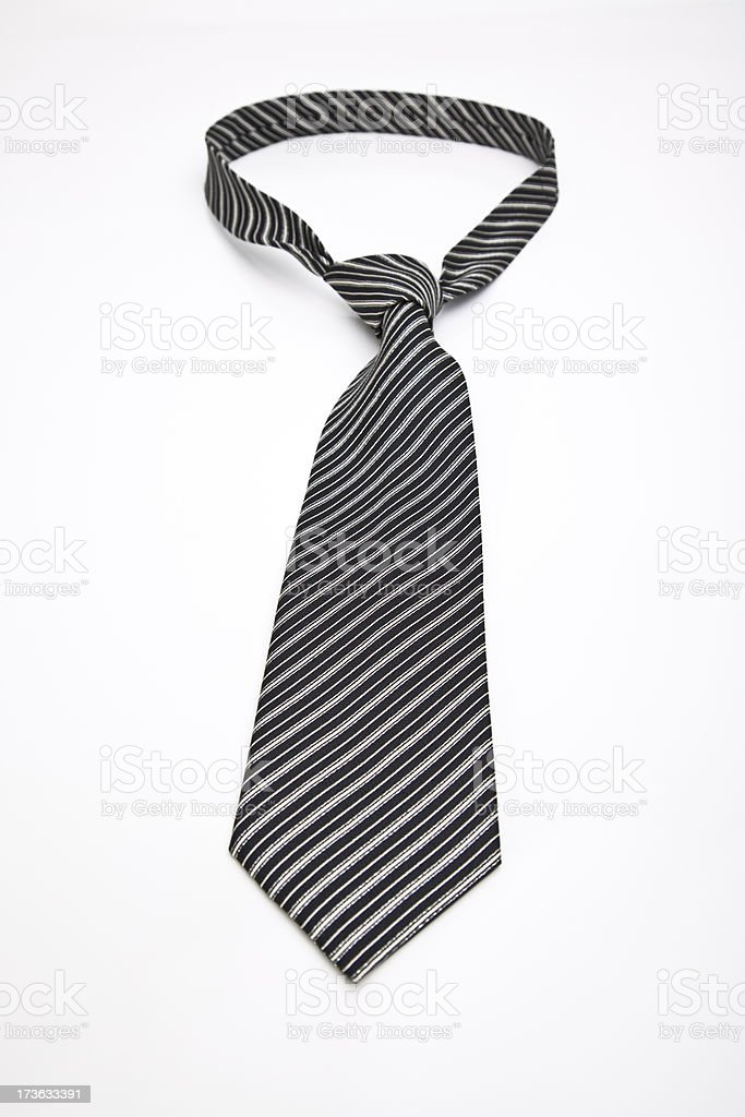 stripped tie royalty-free stock photo