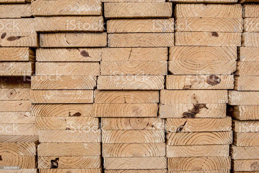 Strips of wood stock photo