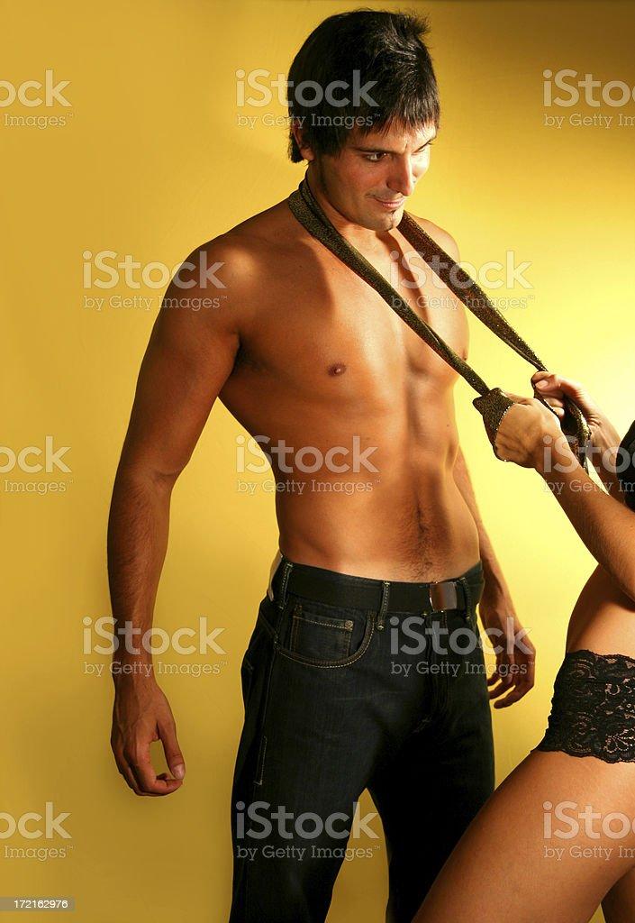 Striptease royalty-free stock photo