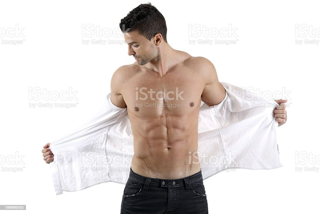 Striptease stock photo