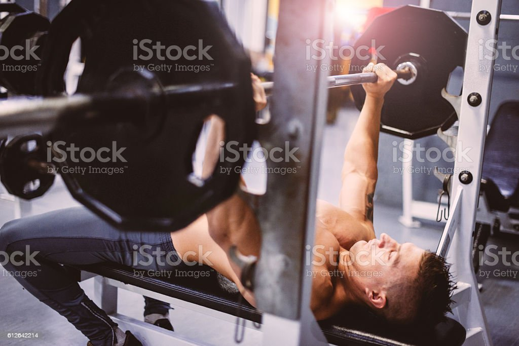 Strive for progress, not perfection stock photo