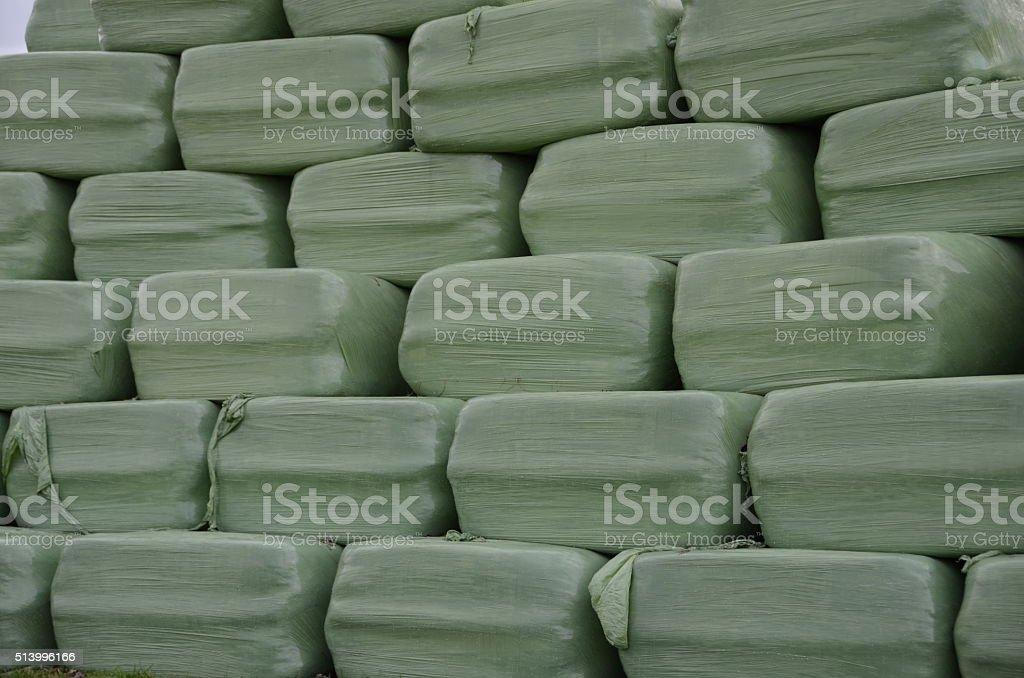 Strohballen stock photo