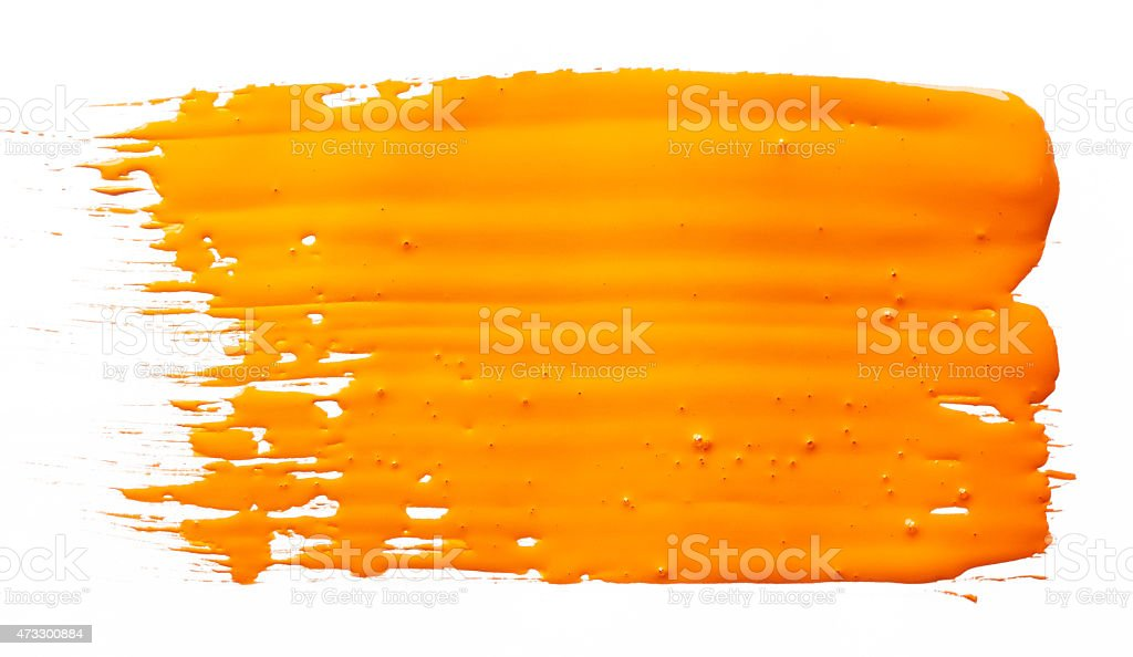 Strokes of paint stock photo