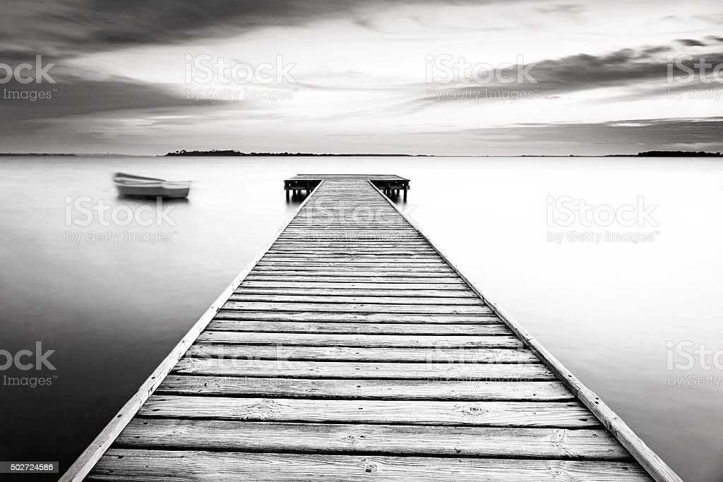 strolling, black and withe stock photo