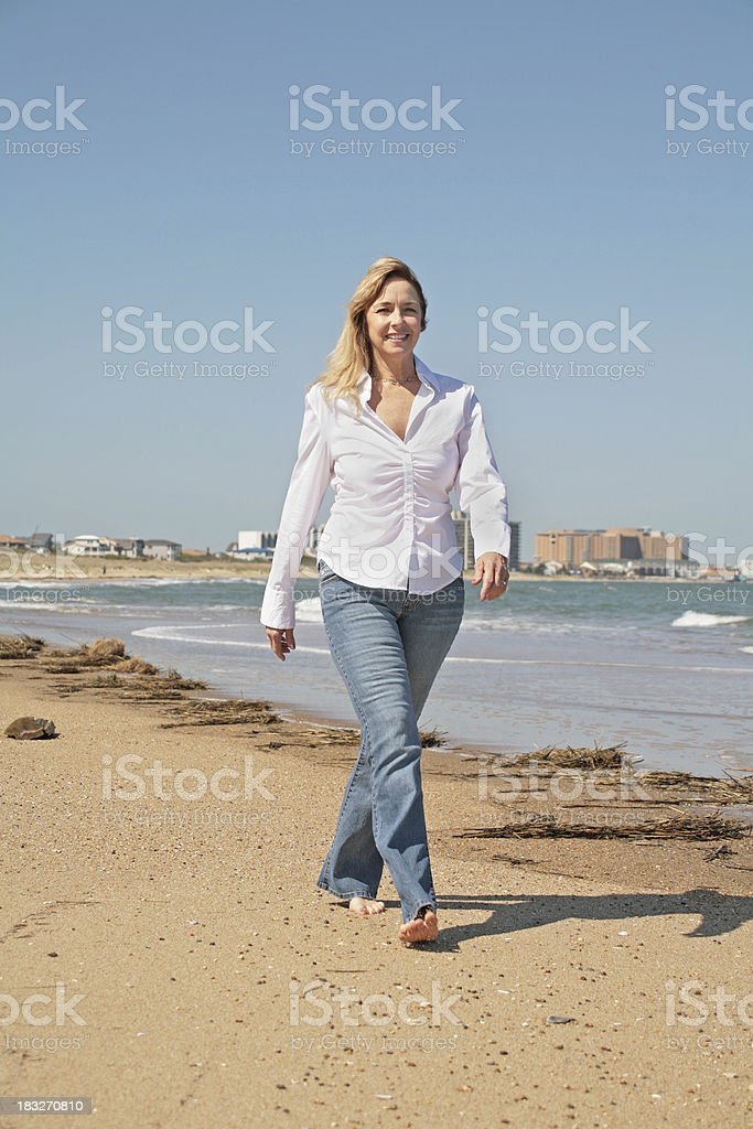 Strolling royalty-free stock photo