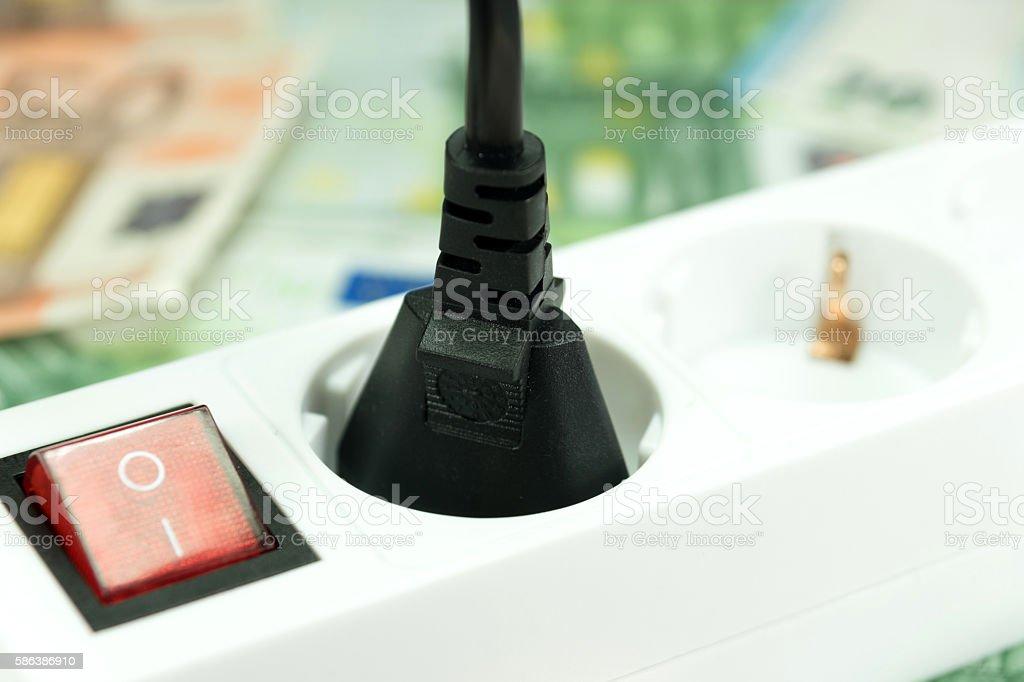 Stromkosten stock photo