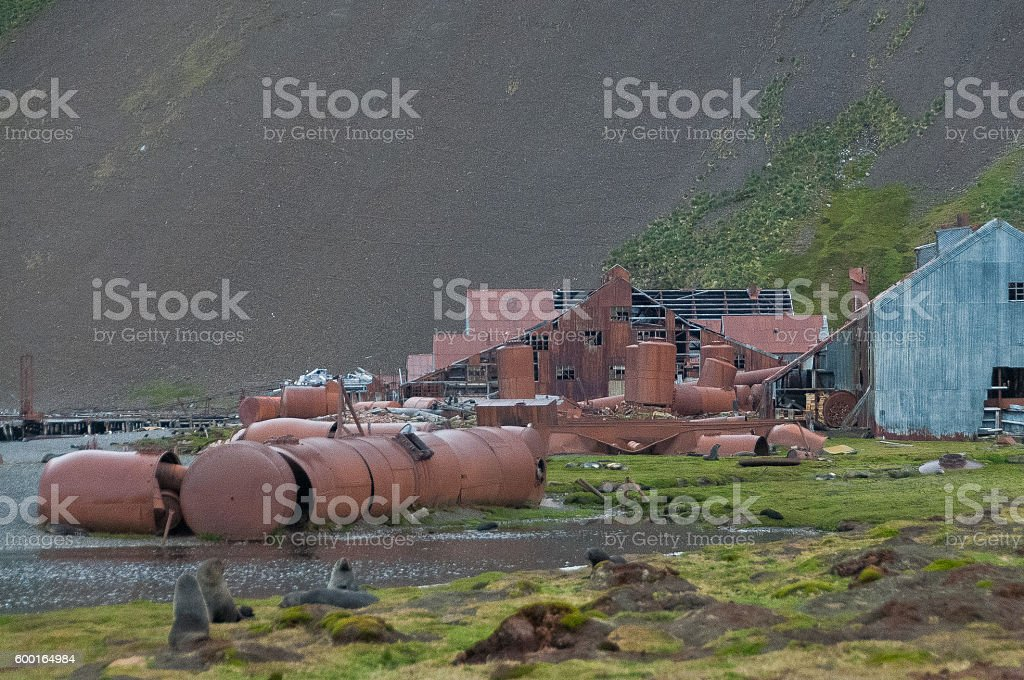 Stromness Ruins stock photo