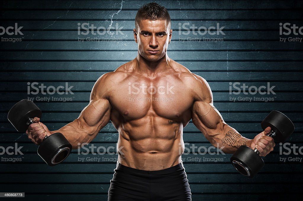 Strong and Healthy royalty-free stock photo