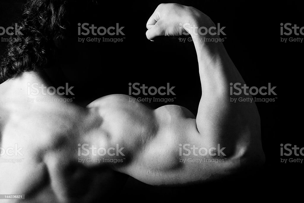 strong arm royalty-free stock photo
