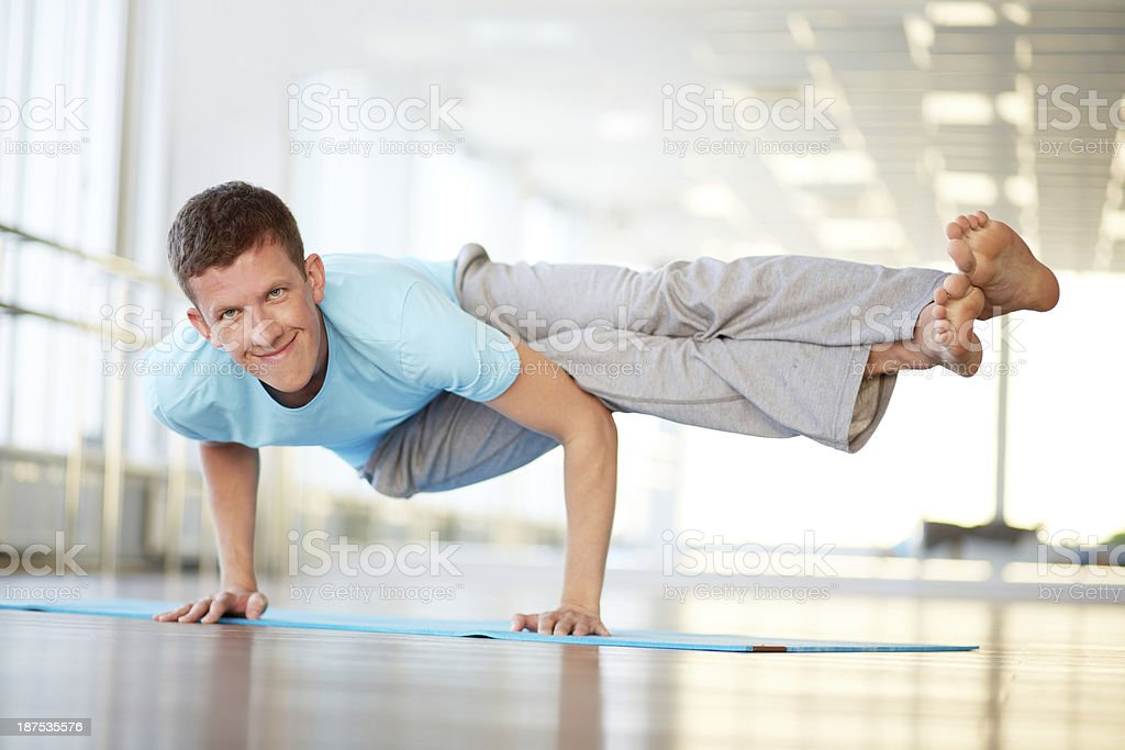 Strong arms royalty-free stock photo