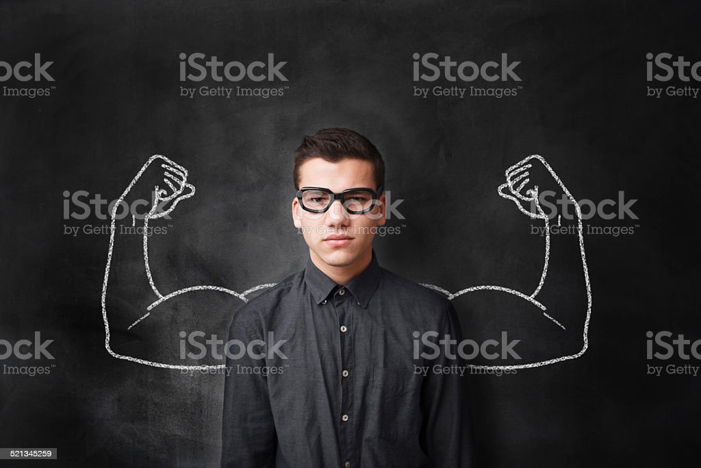 Strong Arms stock photo