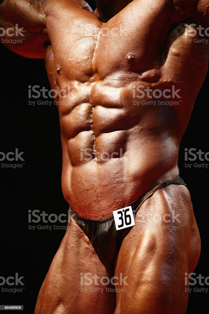 Strong body royalty-free stock photo
