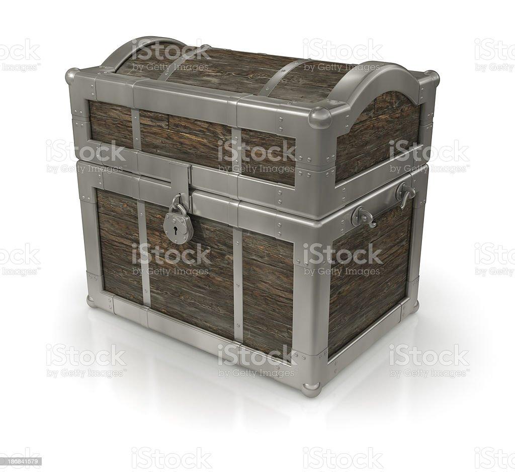 Strong Box stock photo
