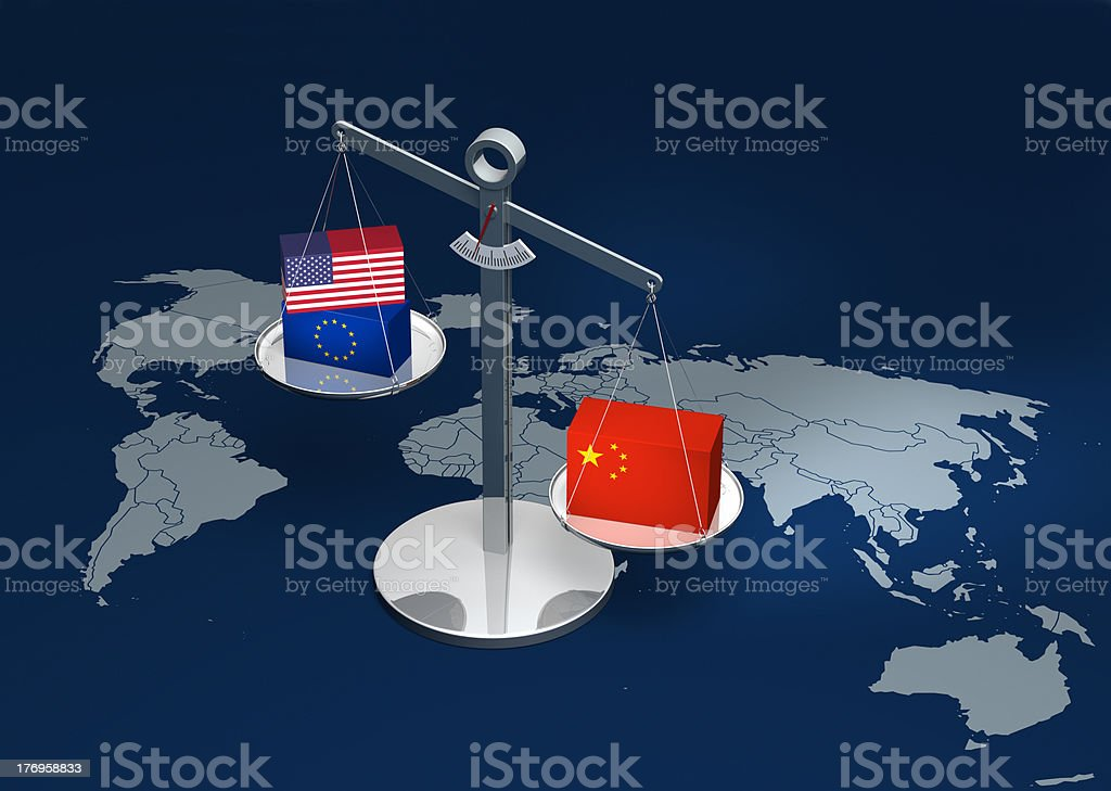 Strong China stock photo