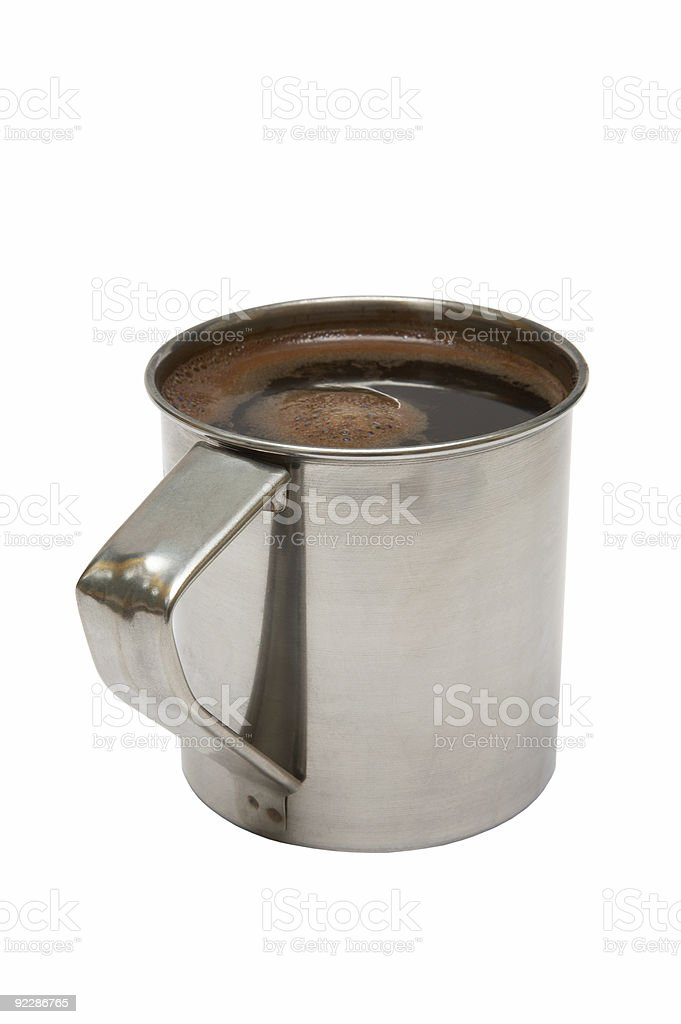 strong coffee royalty-free stock photo