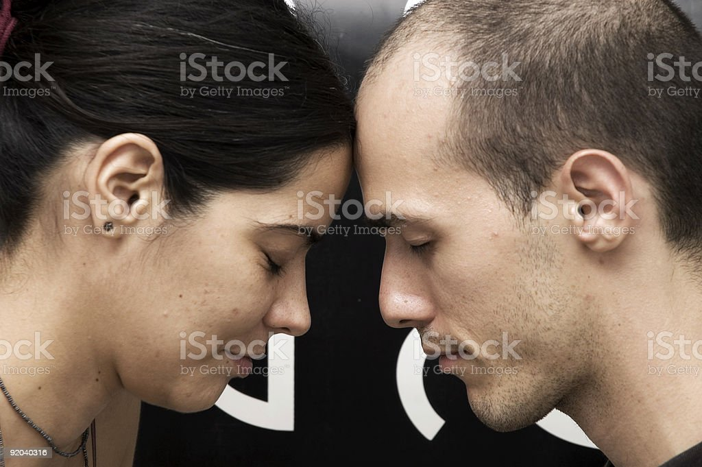 Strong connection stock photo