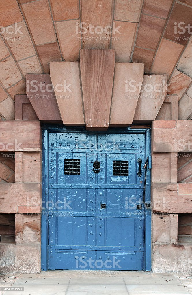 Strong door royalty-free stock photo
