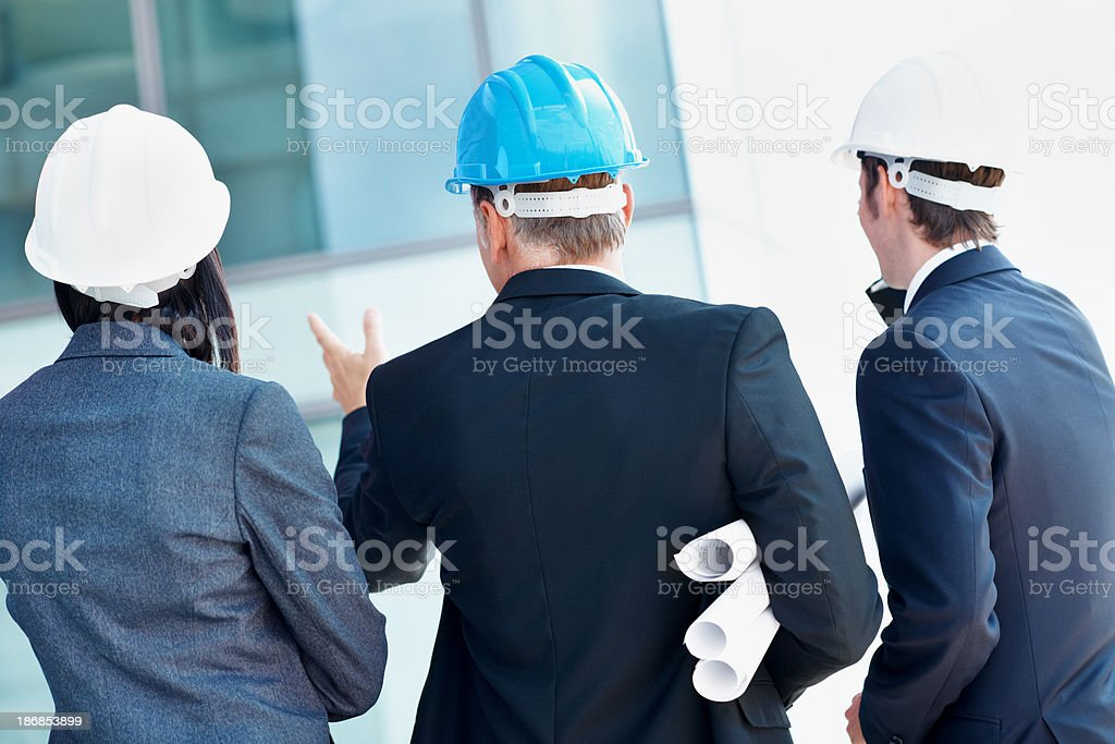 Strong focus on the project in hand royalty-free stock photo