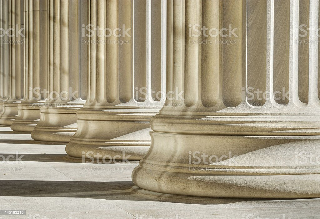 Strong foundation stock photo