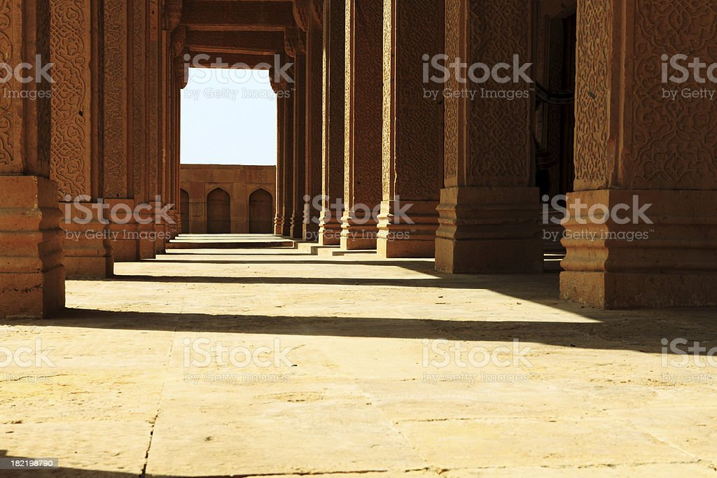 Strong Foundations stock photo